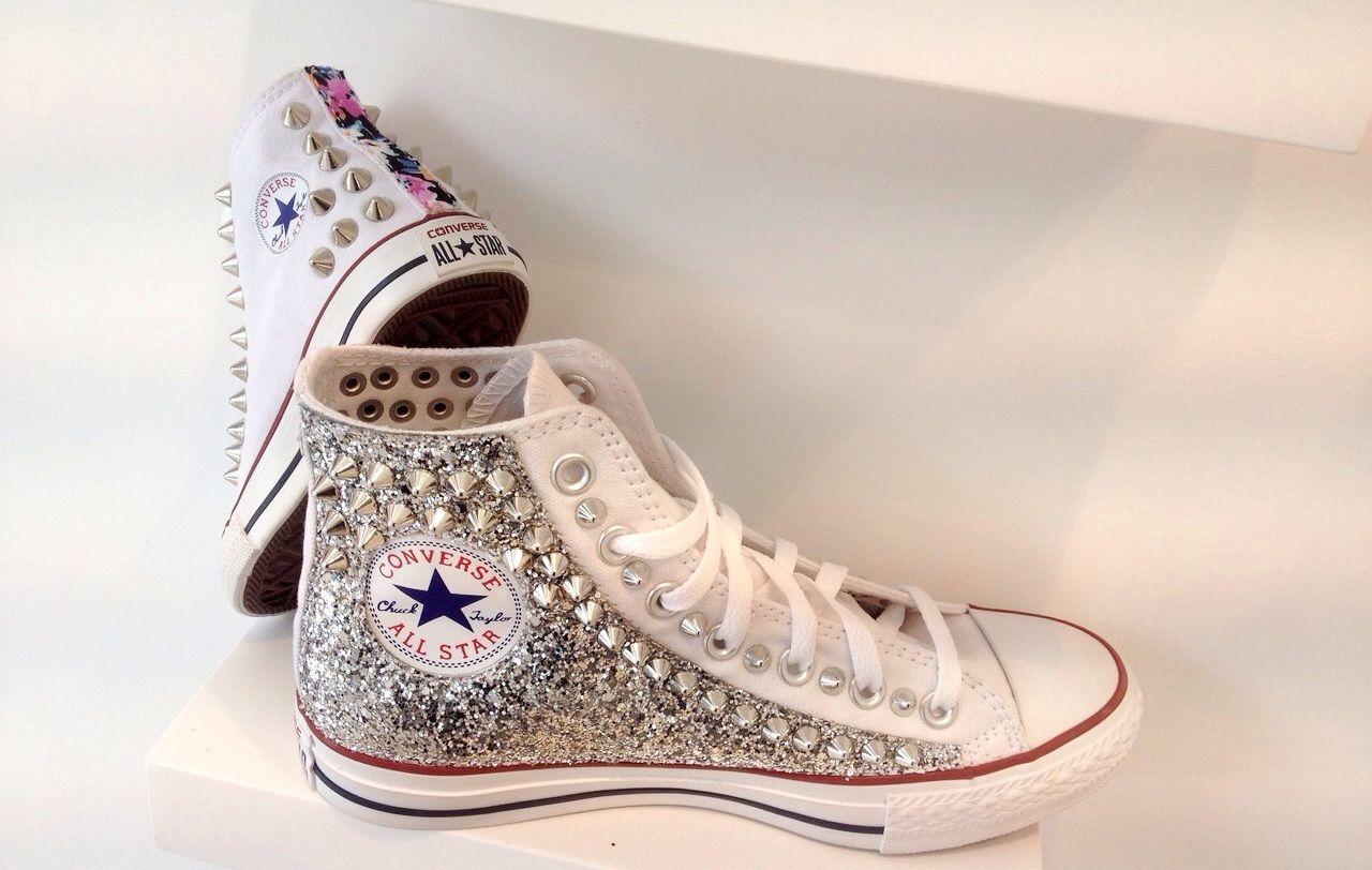Nuova #converse Glitter e borchie!!!