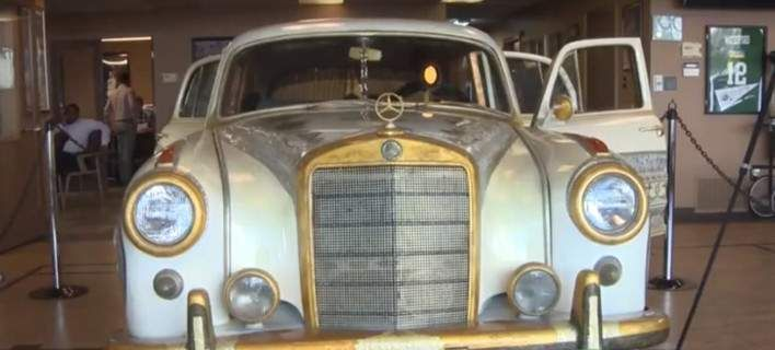 H ολόχρυση Mercedes του θρύλου της πυγμαχίας Μοχάμεντ Αλί