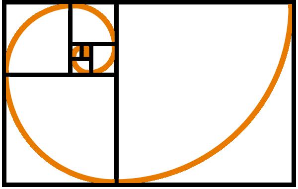 Fibonacci Spiral Orange Clip Art Vector Clip Art Online Royalty Fibonacci Art Fibonacci Fibonacci Spiral
