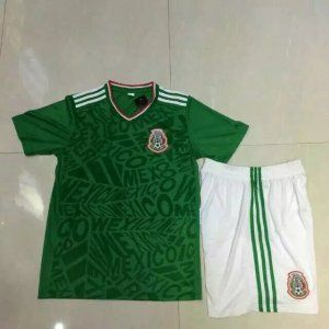 d62caaa935c 2017 Mexico Soccer Team Home Football Shirt Kit [J00446] | Mexico ...