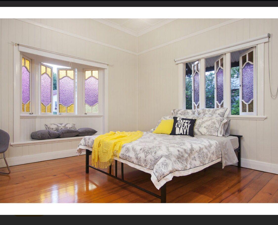 Lady Bradley, Dayboro #Queenslander #Queensland #Dayboro #countryliving #bedroom #style xx