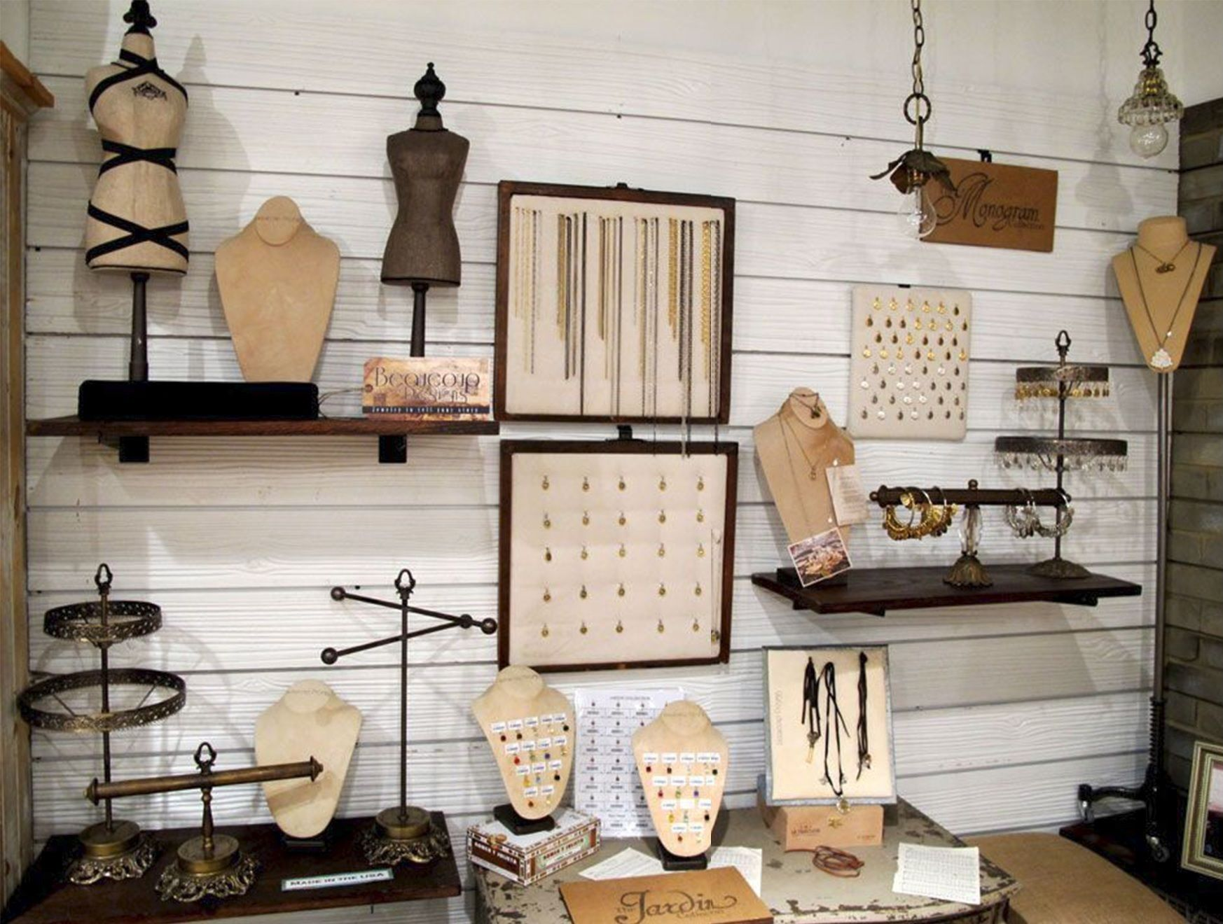 Rustic barnwood slatwall for retail stores now available