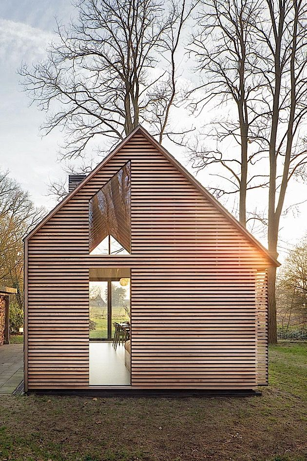 Architektur ein cleveres ferienhaus in holland klonblog for Mobiles ferienhaus