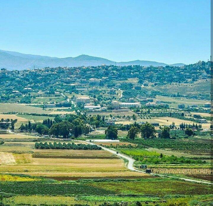 من سهول منطقة مرجعيون جنوب لبنان Farmland Outdoor Places