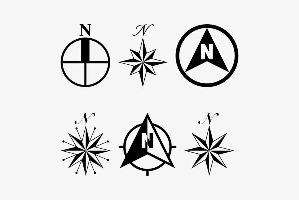 North Arrow Assortment Desktop Font Webfont Youworkforthem Arrow Design Modern Fonts Arrow