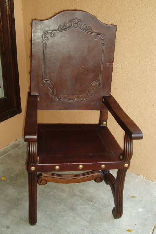 Renaissance Architectural Chairs Spanish Colonial Revival Santa Barbara Style Furniture