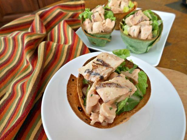 taco salad bowls from tortilla shells... great healthy idea!