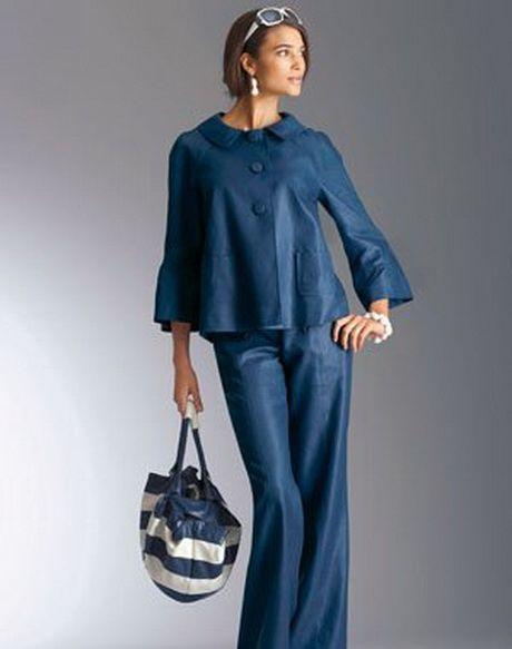 Bien connu Tailleur pantalon femme ronde pour mariage - Prêt à porter féminin  OW57