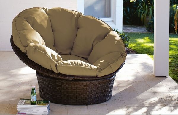 Papasan chair – an iconic chair from the 50s is still trendy today