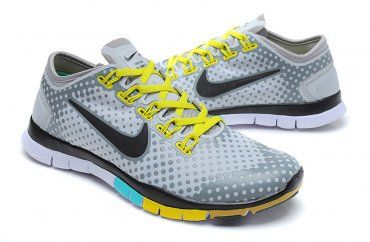 Nike Free TR Fit Lovers Training Shoes Light Gray Black - Click Image to  Close