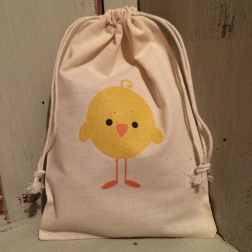 Details about personalised cotton drawstring easter egg hunt details about personalised cotton drawstring easter egg hunt party gift bags 15cm x 22cm negle Choice Image