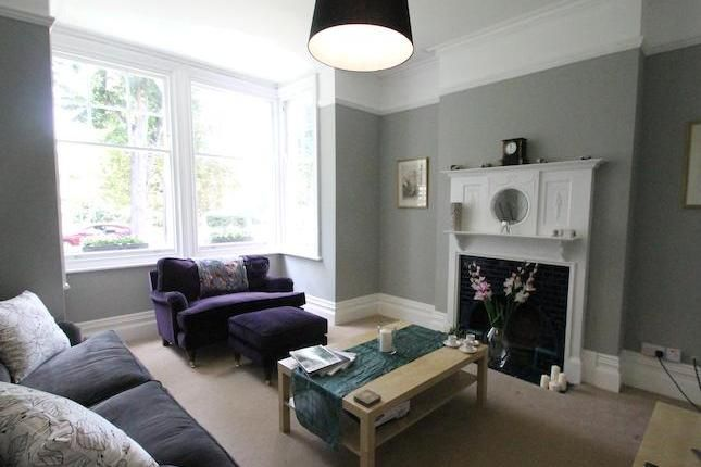 99 Beautiful White And Grey Living Room Interior: Beautiful Lounge In Victorian House With Grey Walls