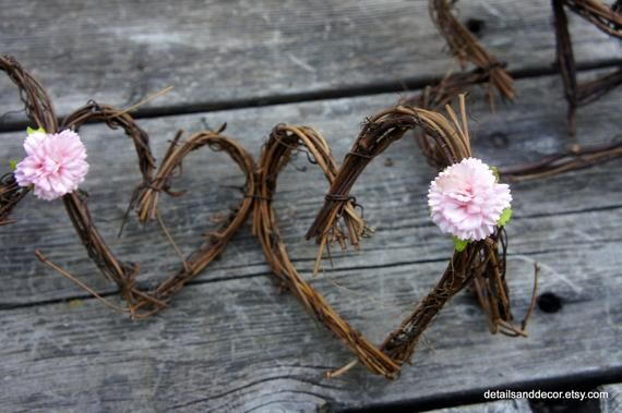 Twig N Paper Flower Garland For Rustic Styled House Wedding - Garland With Pink or White Carnations, Bridal Shower Decorations, Baby Shower #paperflowergarlands