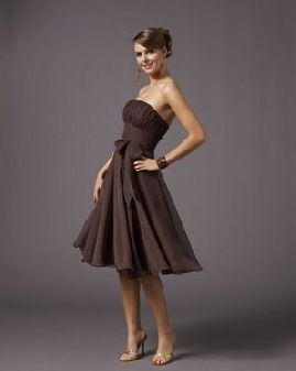 Chocolate And Gold Bridesmaid Dresses Brown Dressesbride
