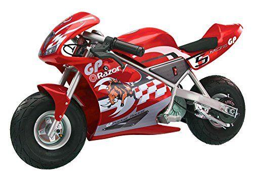 Razor Pocket Rocket Miniature Electric Bike Kids Motorcycle Mini Bike Pocket Bike