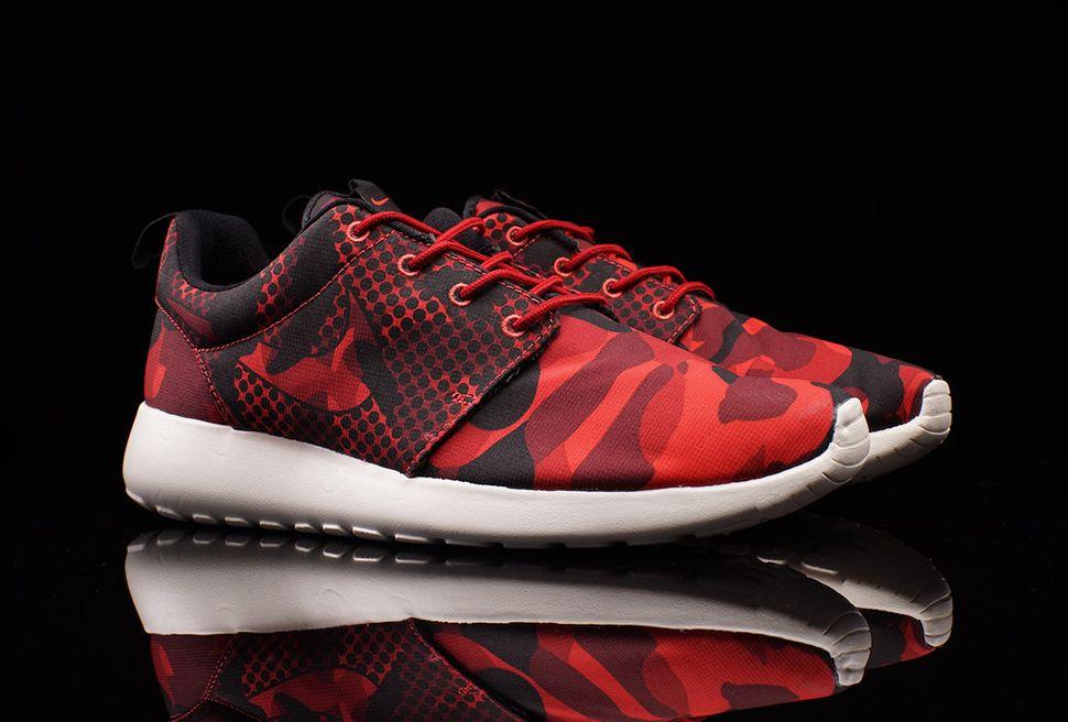 vente best-seller Run Nike Roshe Mens Camo Rouge réduction avec paypal PROMOS 35TNxxNjH