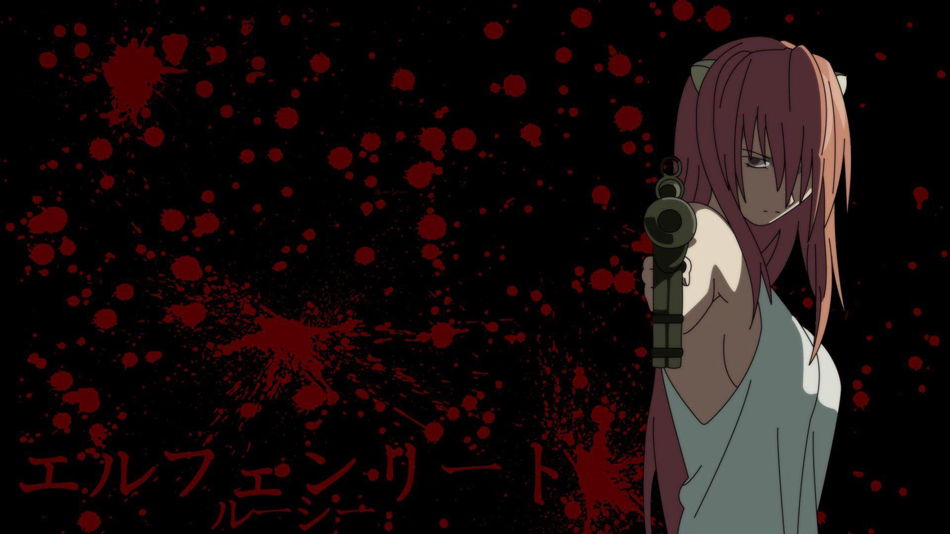 Anime Elfen Lied Lucy Elfen Lied Fondo De Pantalla Anime
