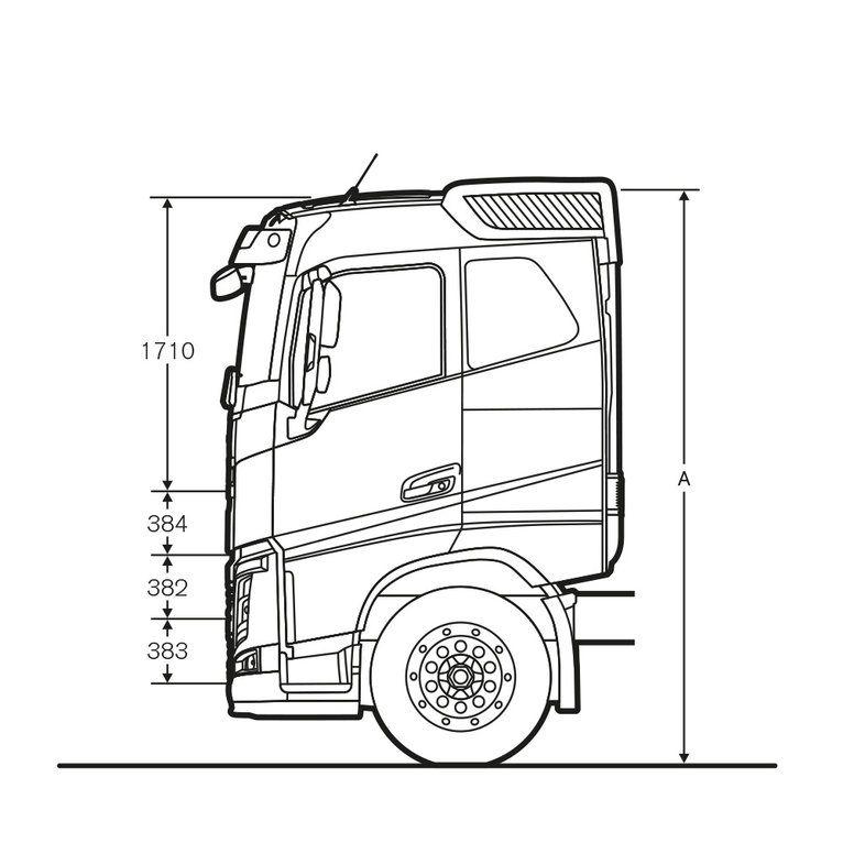 Desenho dimensional do modelo LKS 140