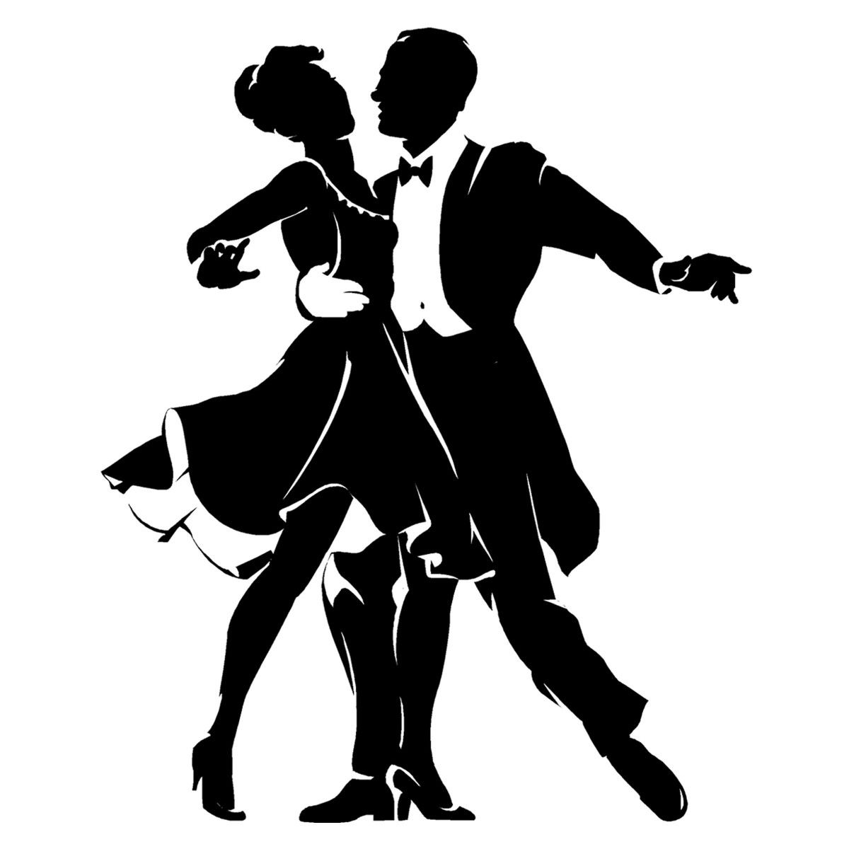 Танцующие пары картинки рисунки