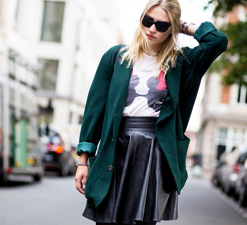 Slip into something vintage for a perfectly worn-in vibe. via @WhoWhatWear  Reminds me of the perfect forest green Pendleton wool blazer I passed up at my local thrift store... TT__TT What are the odds it'll still be there?