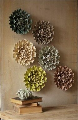 Ceramic Wall Flowers Home Decor Ceramics From Kalalou