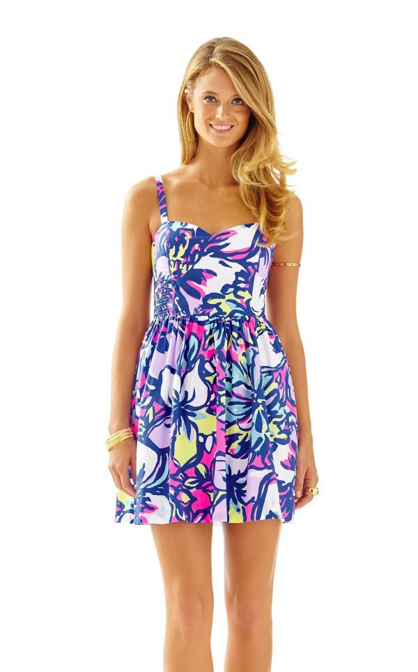 Christine Sundress - Lilly Pulitzer Tropical Pink Catwalkin