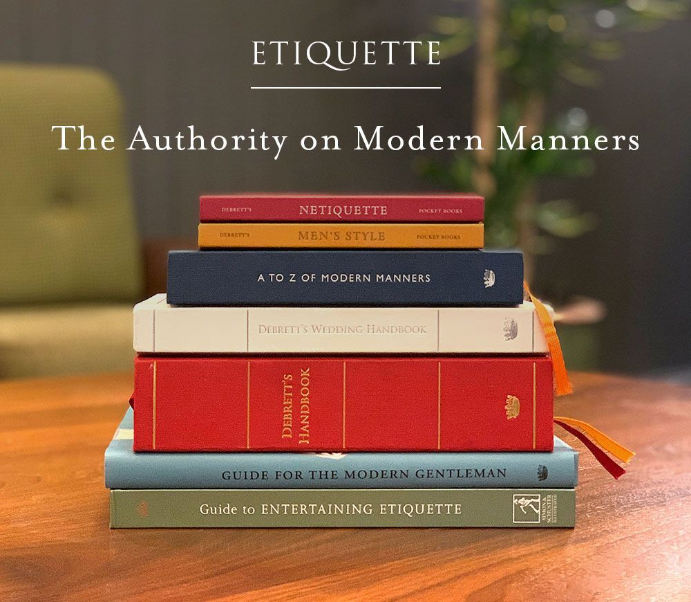 Etiquette training from the 250yearold authority