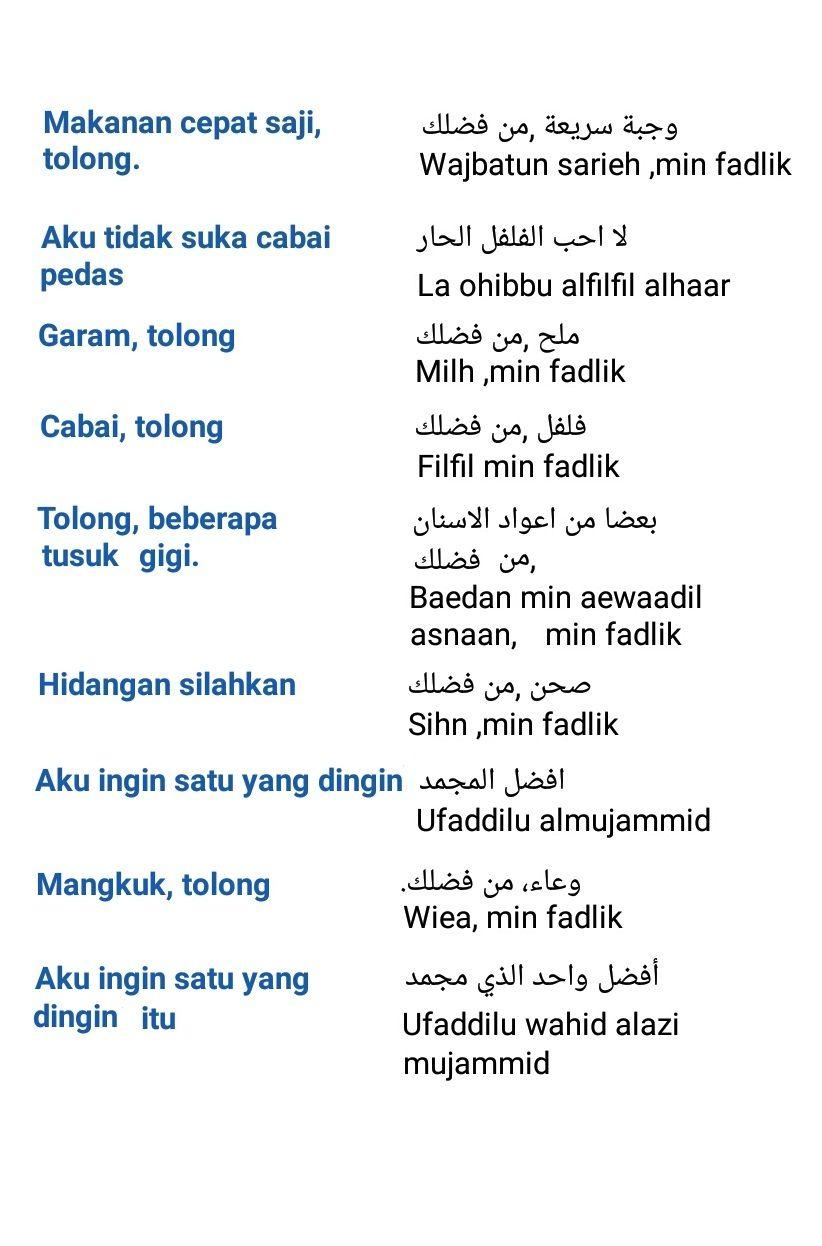 Arabic conversation   alqur'anmulia   Bahasa