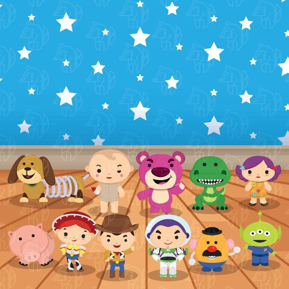 Cute toys clip art Live Toys sticker Sheriff clip art toys | Etsy