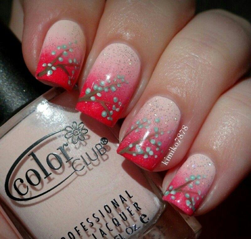 Nail art with makeup sponge. Sparkles | Nails | Pinterest | Makeup ...