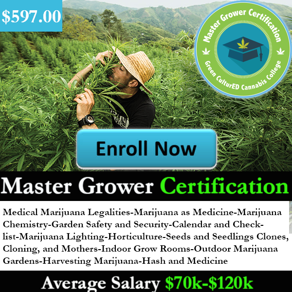 Get Your Certification To Become A Expert Grower | Pinterest | Cannabis