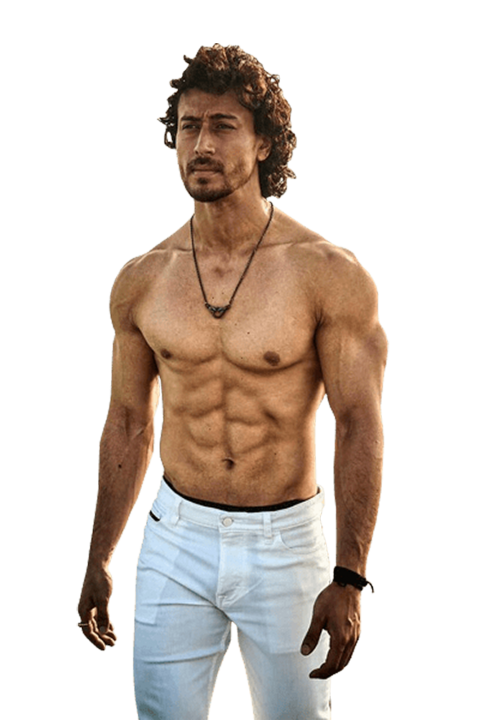 Tiger Shroff Png Hd Six Pack Photo Your Png Free Png Images Stock Tiger Shroff Tiger Bollywood Actors