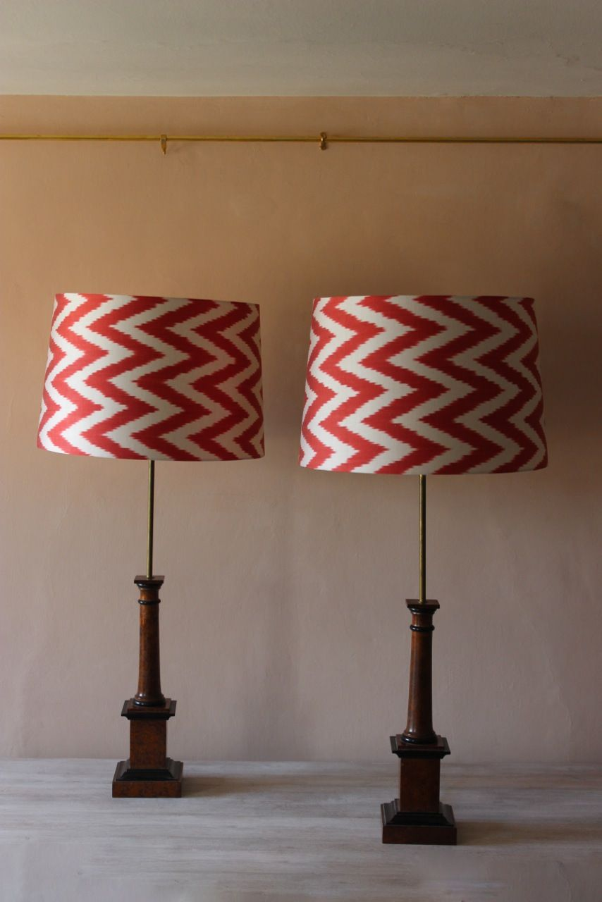 Fine pair of mid 20th century spanish wooden table lamps in the fine pair of mid 20th century spanish wooden table lamps in the classical taste keyboard keysfo Image collections