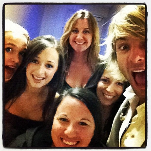 """keith & """"The lovely ladies of Celtic Thunder""""  7/12  Photo by keithharkin • Instagram"""