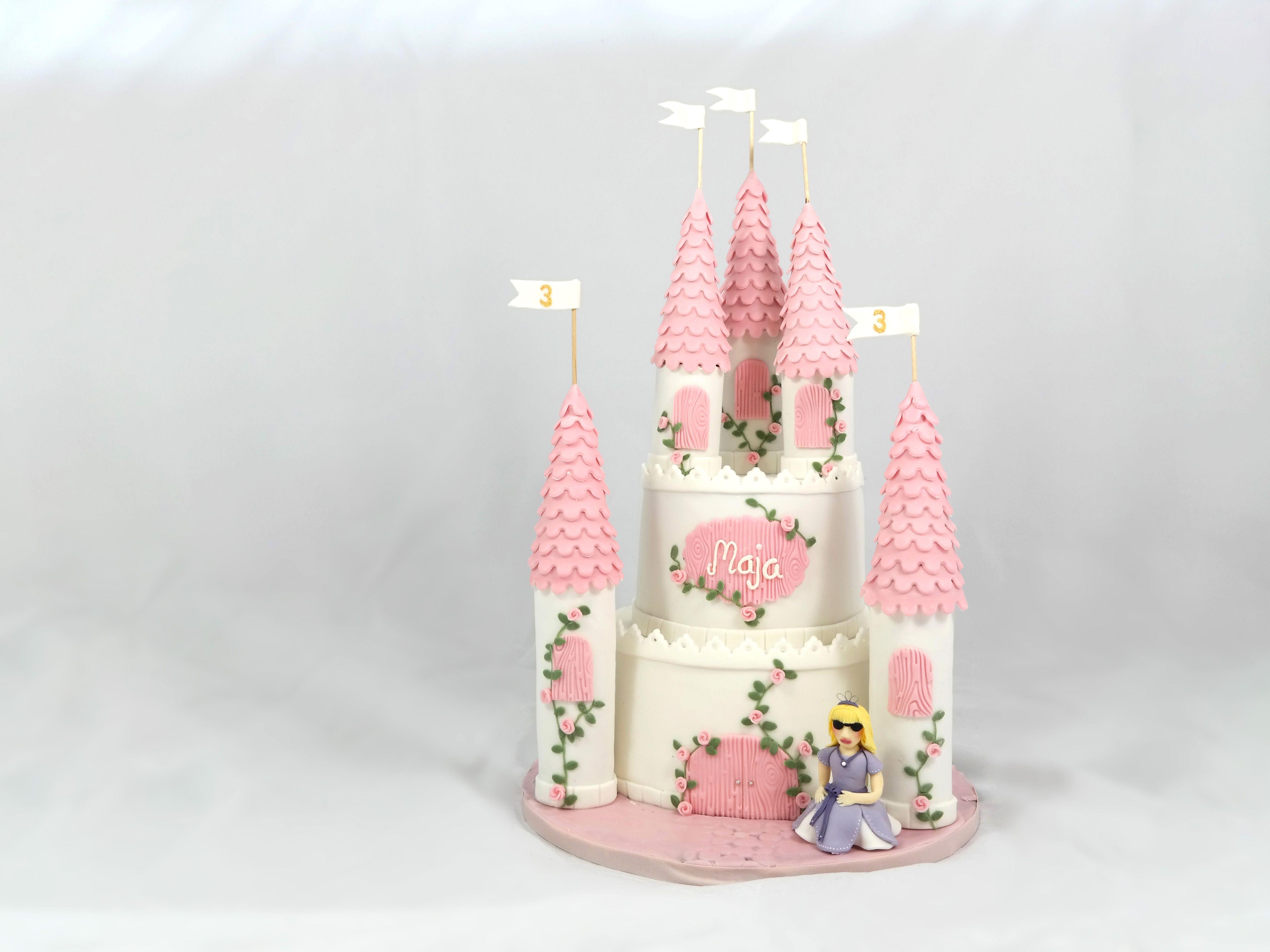prinzessinnenschloss  motivtorte  prinzessin  castle