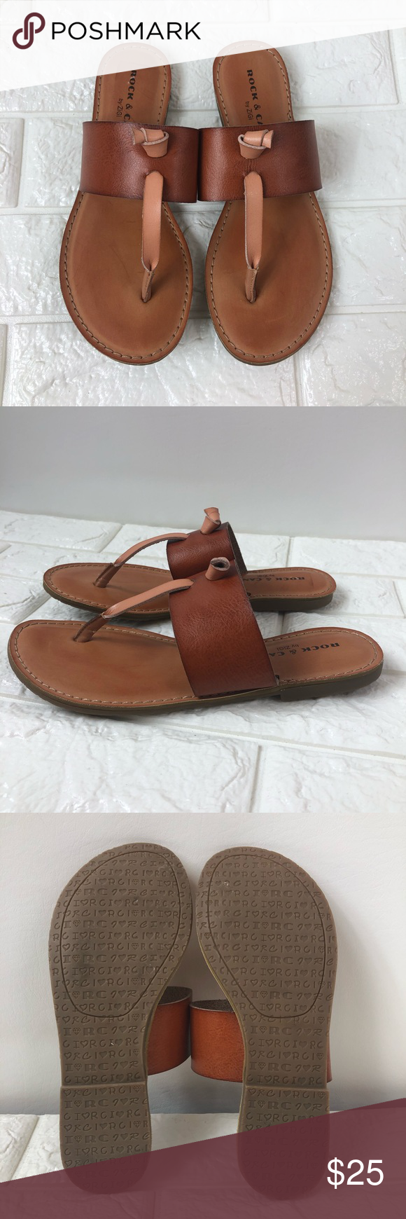 d44c670e009 Rock   Candy Blaney Flat Thong T-Strap Sandals ▫️Brand  Rock   Candy