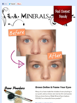 Check Out This Mad Mimi Newsletter Eyebrow Enhancer Oil Free Foundation How To Grow Eyebrows