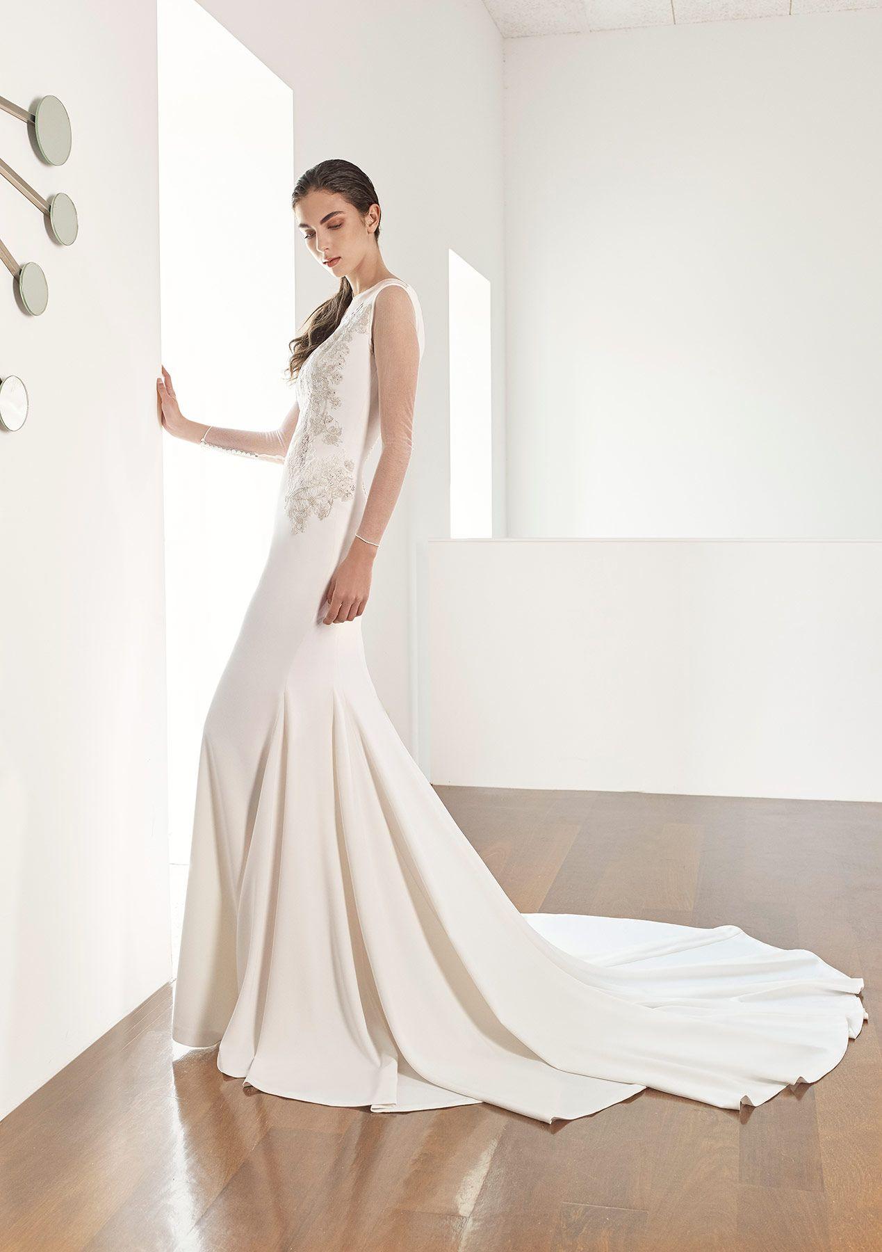 f6f860e2f Vestido de novia de Patricia Avendaño colección 2017. Eva Novias Madrid