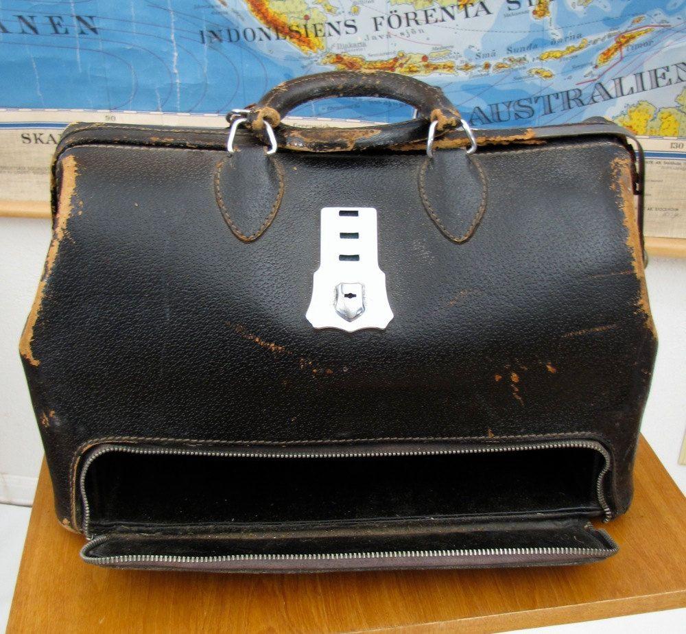 Antique Medical Bag