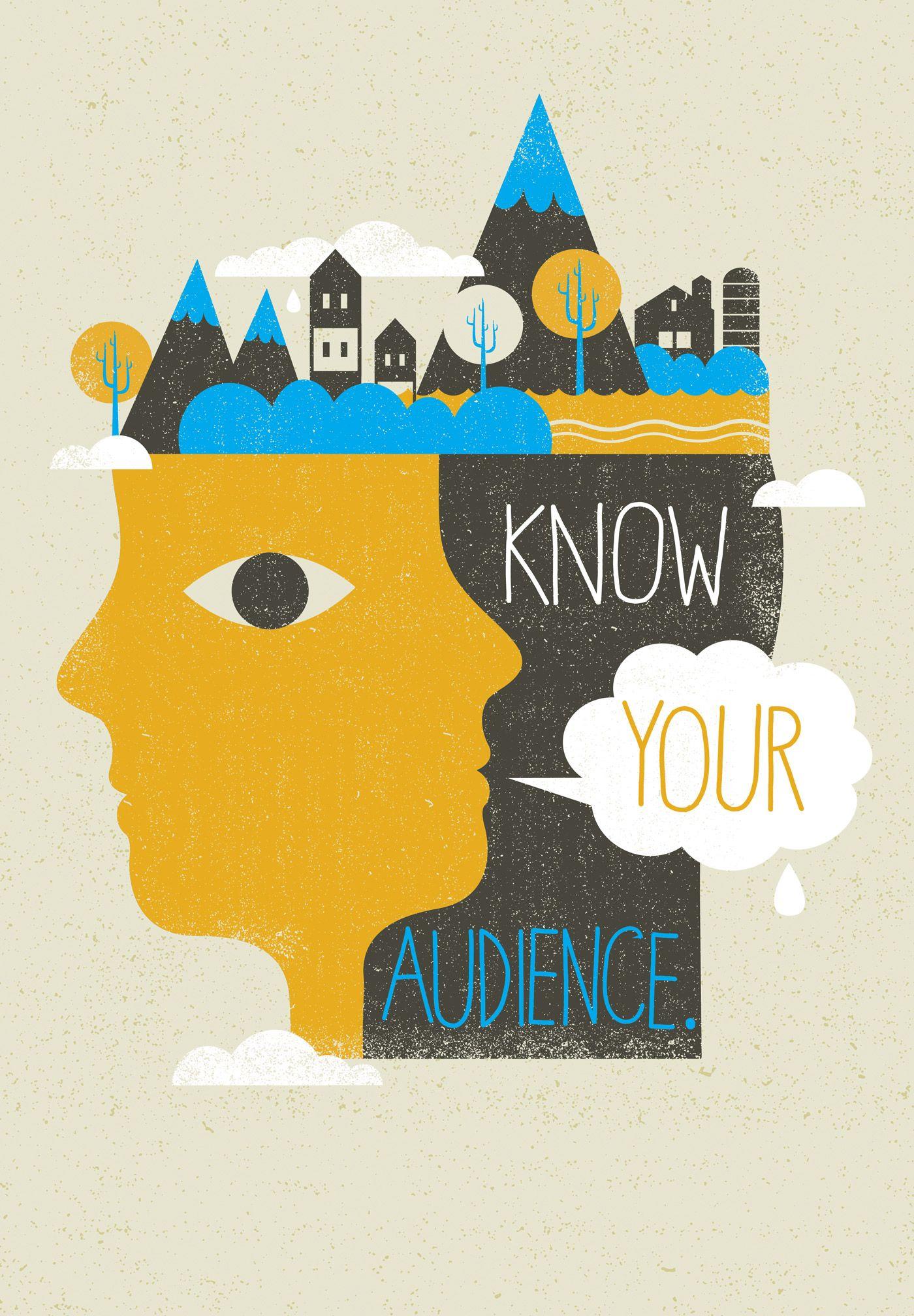 MTV Core Values | Tad Carpenter Creative | design inspiration ... for Creative Poster Designs Inspiration  303mzq