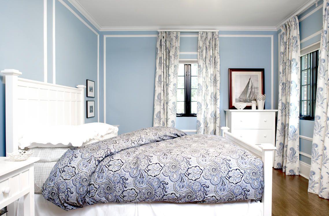 Homedesign Simple Curtains For Bed Room Blue Bedroom Walls Luxurious Bedrooms Guest Bedroom Design Inspirasi blue bedroom decor
