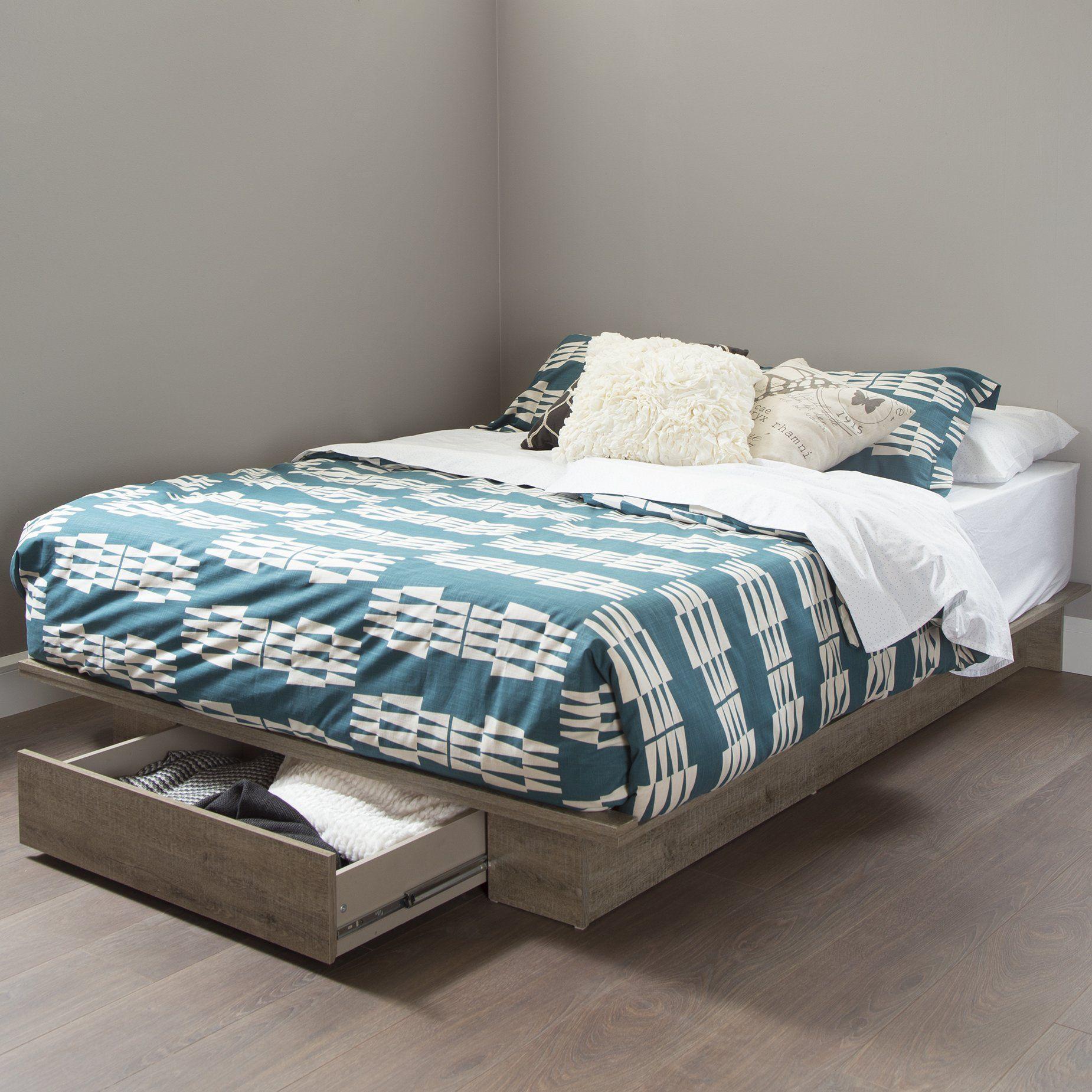 Gloucester Upholstered Standard Bed Platform bed with