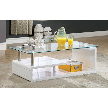 Home Modern Glass Coffee Table Contemporary Glass Coffee Tables