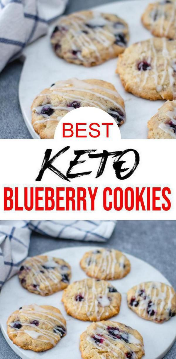 BEST Keto Cookies! Low Carb Keto Blueberry Streusel Cookies Cookie Idea – Quick & Easy Ketogenic Diet Recipe – Completely Keto Friendly #ketocookierecipes