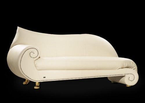 Decorative Ivory Chaise from Bretz Couture Elegant Repose 10 Beautiful Chaise Lounge Designs : chaise designs - Sectionals, Sofas & Couches