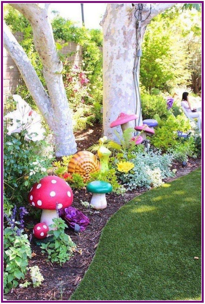 7+ amazing whimsical garden ideas 7  Fairy garden designs