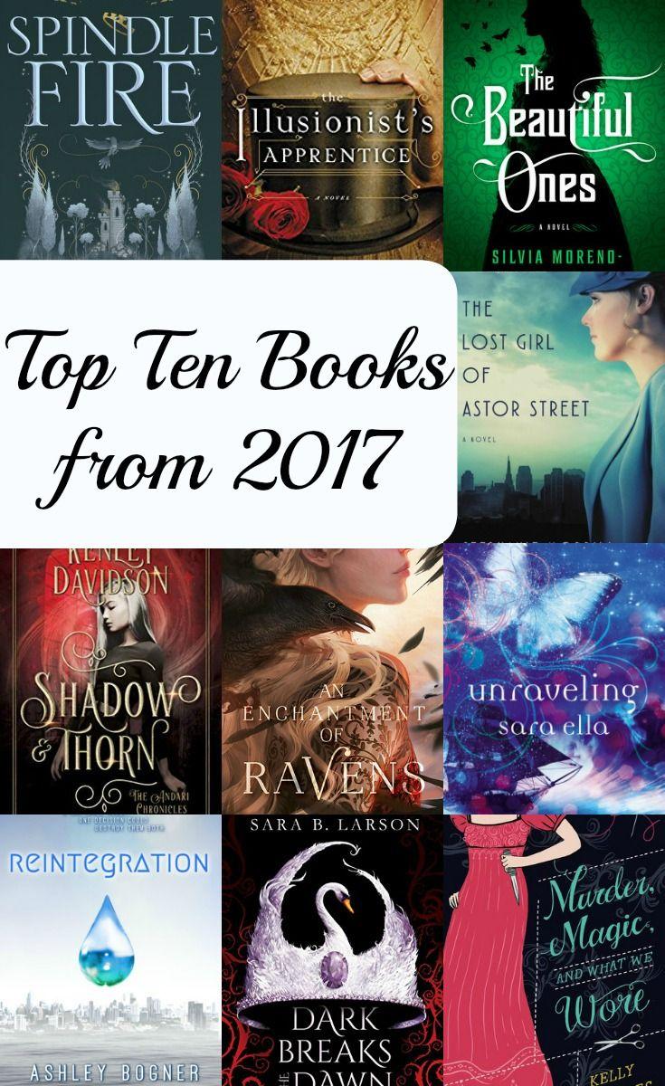 Top Ten Teen Books From 2017 Bookreviews Teen Amreading Tbr