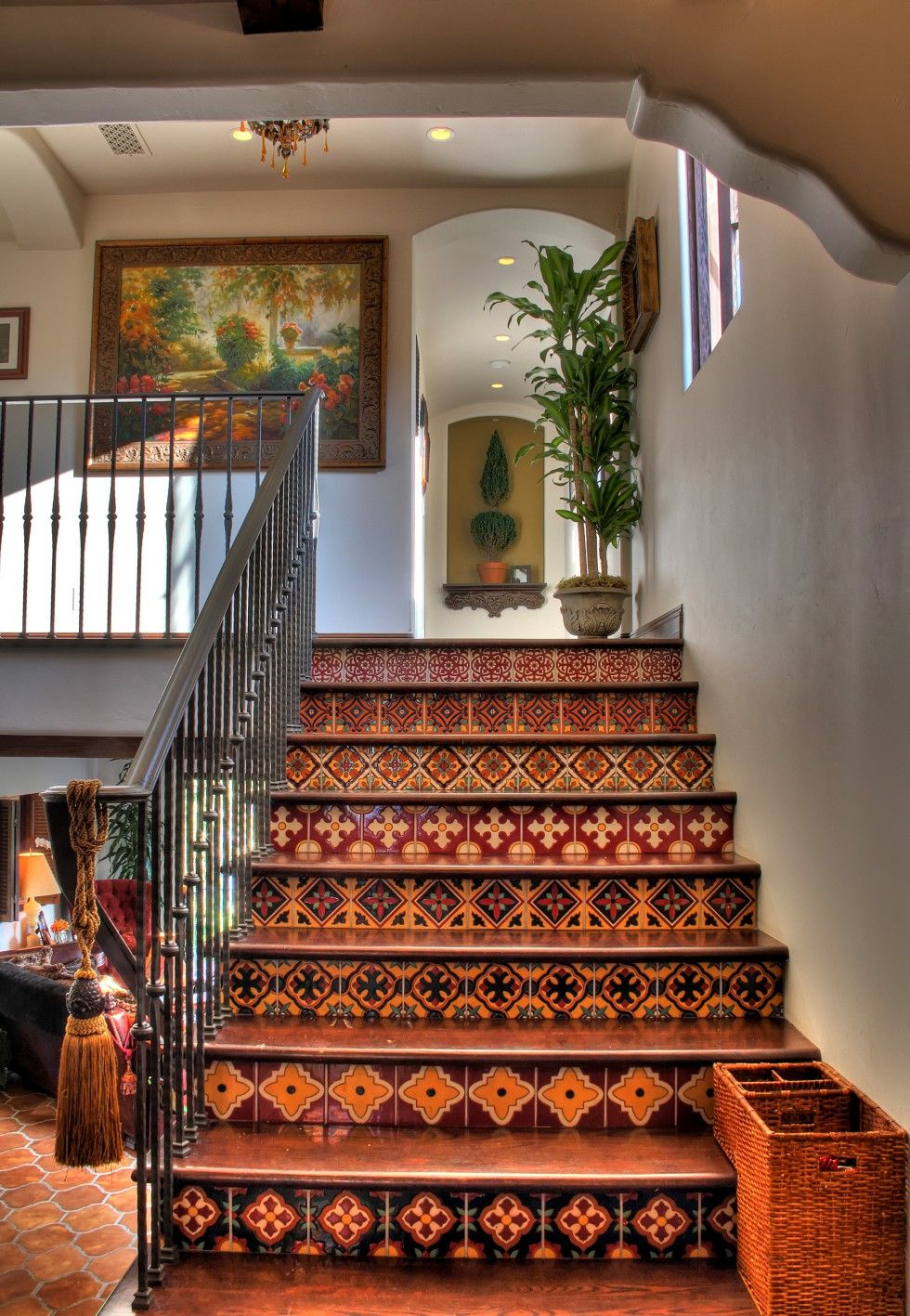 Living room mediterranean staircase los angeles by la design - South Bay Digs Sweet Digs Architecture Interior Design Old Los Angeles