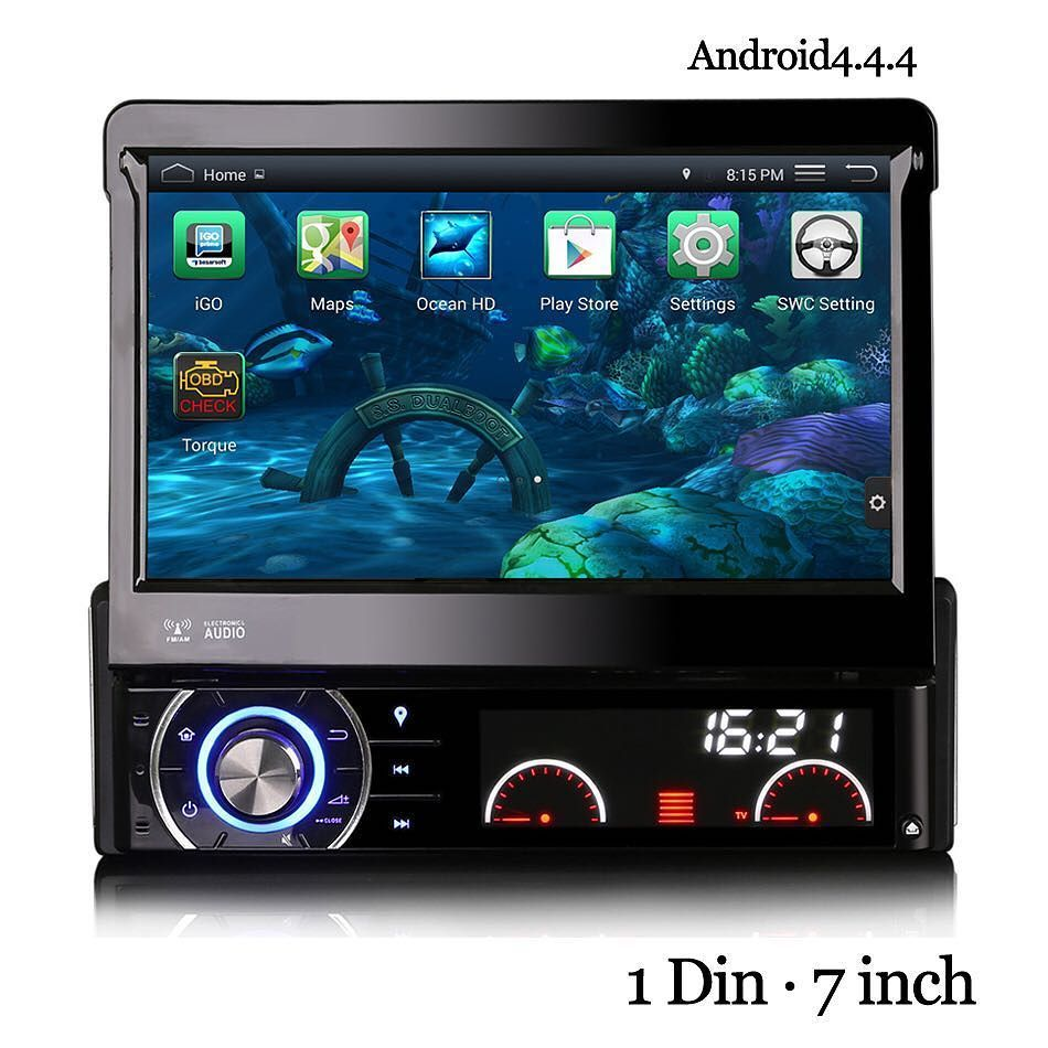 1 din 7inch touch screen car radios aftermarket