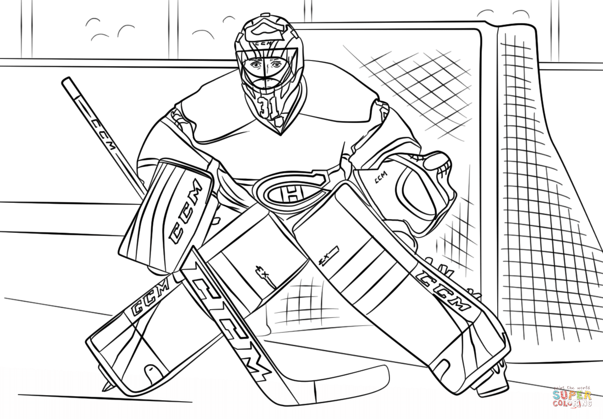 Coloriage carey price coloriages imprimer gratuits - Dessin hockey ...